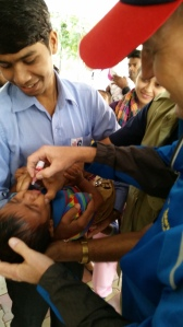 Polio Immunization Day in India
